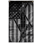 MH-47 Helicopter Display Flag