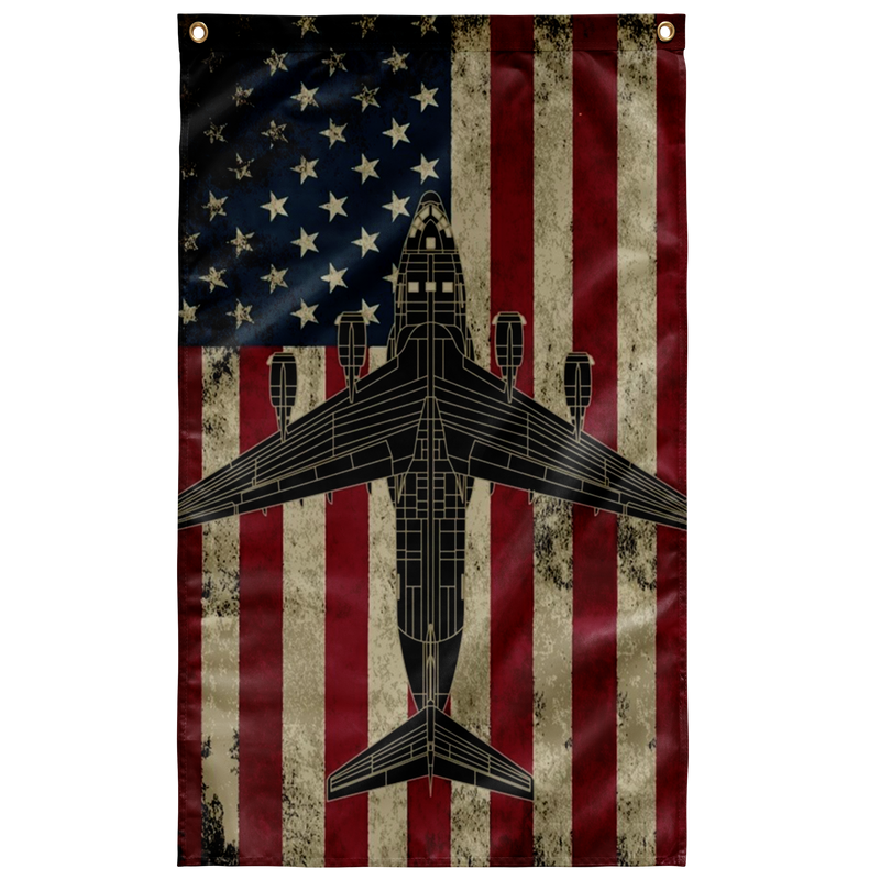C-17 Globemaster Airplane Flag