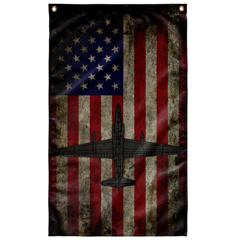 US Air Force U-2 Dragon Lady Colorized Flag
