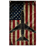 US Air Force KC-10 Extender Tank Colorized Flag