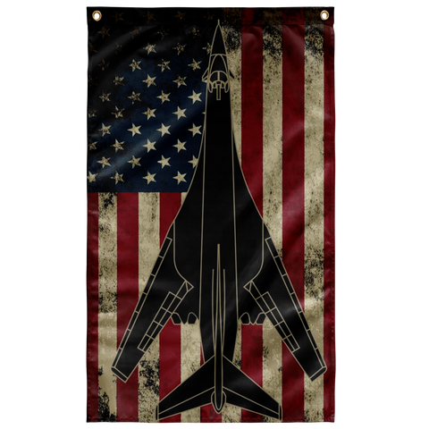 B-1 Bomber Colorized Flag