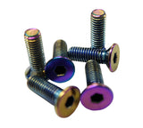 NRG Steering Wheel Screw Upgrade Kit (Conical) - Neochrome - Chris Taylor Racing Services