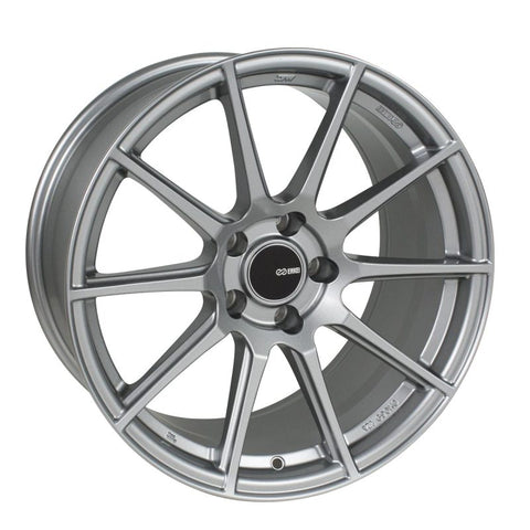 Enkei TS10 18x9.5 35mm Offset 5x114.3 Bolt Pattern 72.6mm Bore Dia Grey Wheel