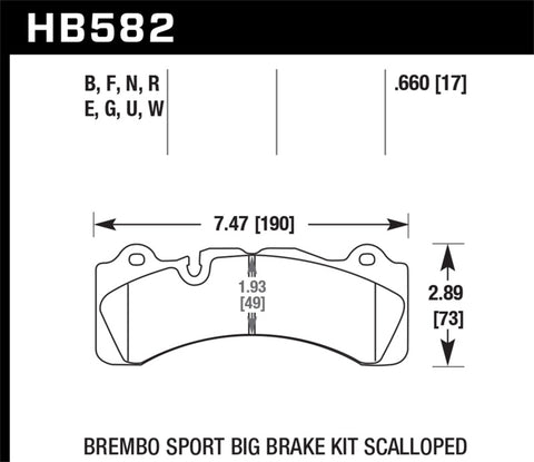 Hawk DTC-70 Compound Brake Pads