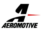 Aeromotive In-Line Filter - (AN -8 Male) 40 Micron Stainless Mesh Element Bright Dip Black Finish