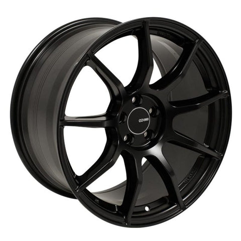 Enkei TS9 18x8.5 5x114.3 35mm Offset 72.6mm Bore Black