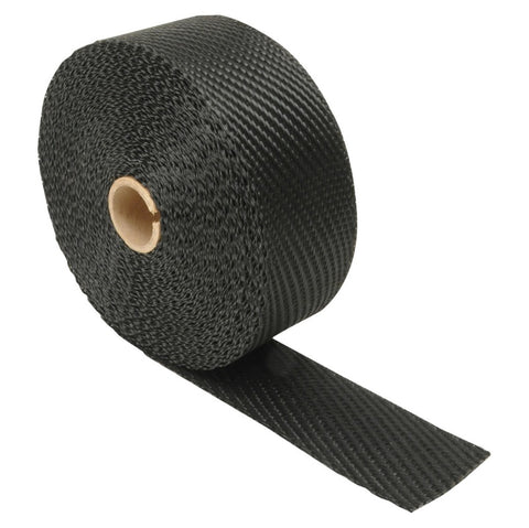DEI Exhaust Wrap 2in x 15ft - Titanium - Black