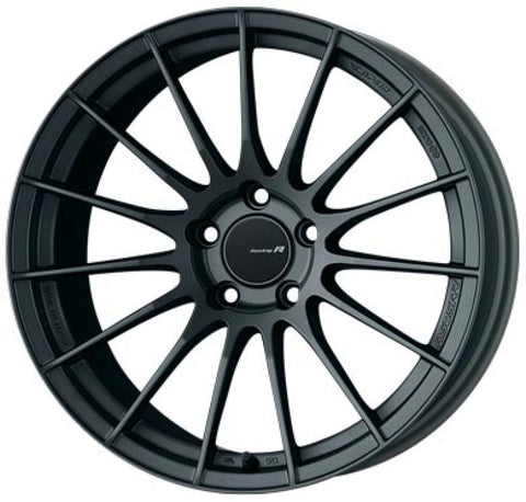 Enkei RS05-RR 18x10.5 15mm ET 5x114.3 75.0 Bore Matte Gunmetal Wheel G35 350z