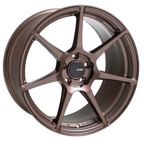 Enkei TFR 18x9.5 5x114.3 38mm Offset 72.6 Bore Diameter Copper Wheel