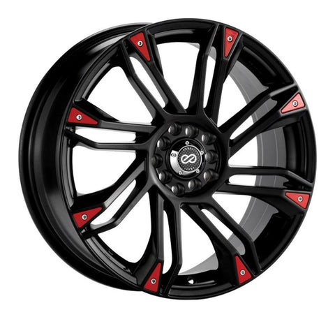 Enkei GW8 17x7 4x100/108 42mm Offset 72.6 Bore Matte Black Wheel