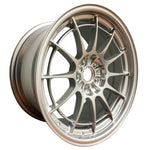 Enkei NT03+M 18x9.5 5x108 40mm Offset 72.6mm Bore F1 Silver Wheel (MIN ORDER QTY 40)