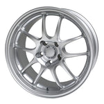 Enkei PF01 18x9.5 5x114.3 35mm Offset 75mm Bore Silver Wheel