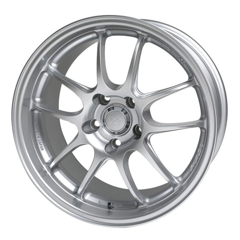 Enkei PF01 18x10.5 5x114.3 38mm Offset Silver Wheel