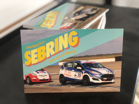 Racing Postcards