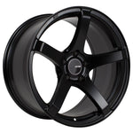 Enkei Kojin 18x9.5 35mm Offset 5x120 Bolt Pattern 72.6mm Bore Dia Matte Black Wheel