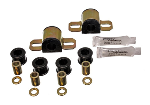 Energy Suspension 90-97 Mazda Miata Black 19mm Front Sway Bar Bushings (includes Sway Bar End Link B