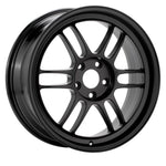 Enkei RPF1 15x8 4x100 28mm Offset 5 Hub Bore Black Wheel - 11.64Lbs