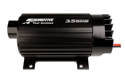 Aeromotive Signature Brushless Spur Gear 3.5GPM External In-Line Fuel Pump