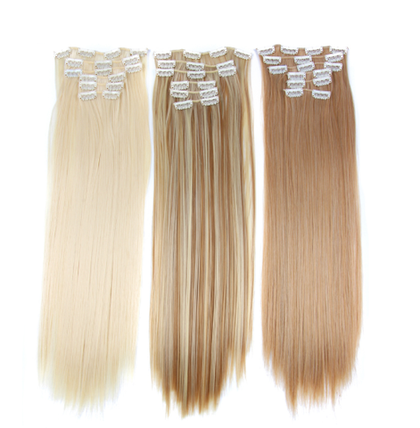 6 Piece clip in Extensions - 14 colours available