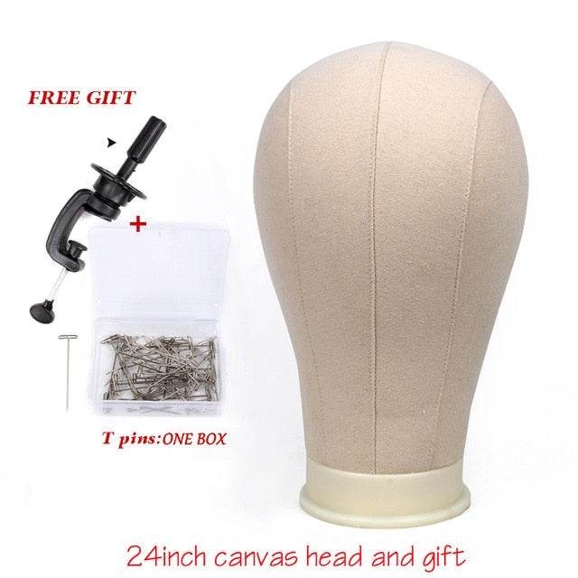 Canvas Mannequin Head