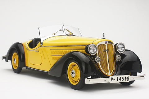 CMC M-075A Audi 225 Front Roadster (black/yellow) 1935