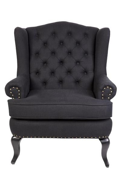 Sheffield Arm Chair Black