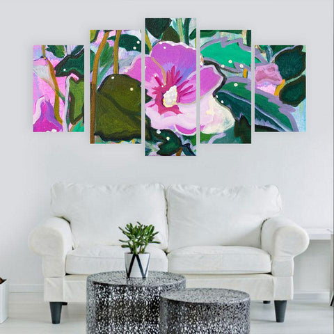 5 Panel Framed Custom Made Print Painting On Canvas Wall Art Home Decor