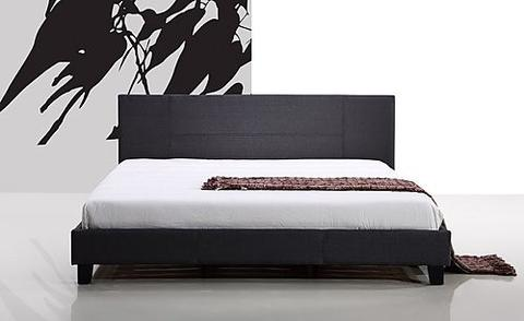 Palermo Bed Frame with Linen Fabric