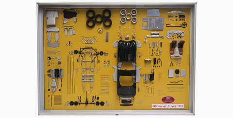 CMC A-016 Model Art, Jagusr C-Type parts display board. Limited Edition 300pc