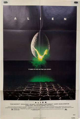 ALIEN (1979) ORIGINAL MOVIE POSTER
