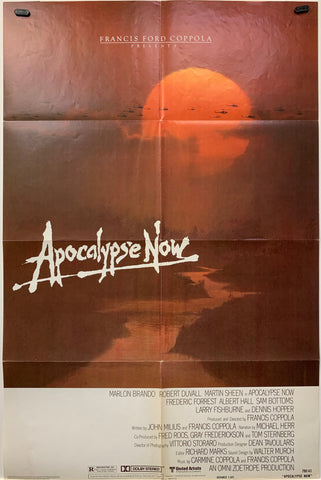 APOCALYPSE NOW (1979) ORIGINAL MOVIE POSTER