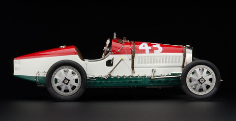 CMC M100-014 Bugatti Type 35 Grand Prix Nation Colour Project - Hungary