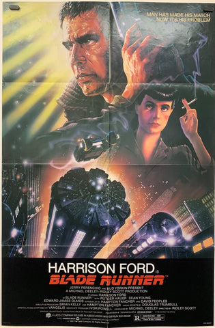 BLADE RUNNER (1982) ORIGINAL MOVIE POSTER