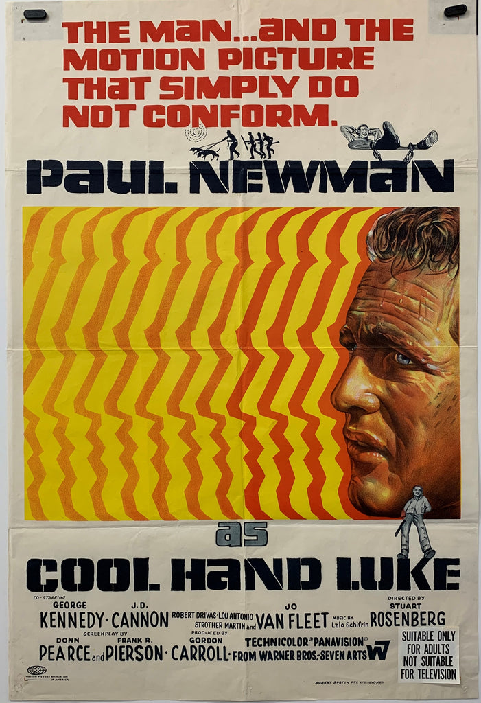 COOL HAND LUKE (1967) ORIGINAL MOVIE POSTER