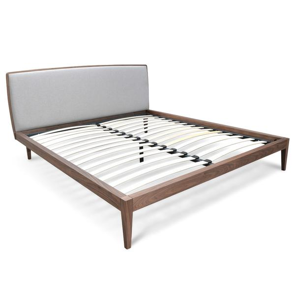 Queen Sized Bed Frame - Walnut