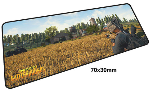 PUBG Farm Assault Large Mouse Pad 700x300mm Best PC Gaming Pad HD Print