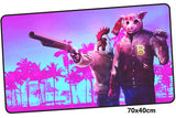 Hotline Miami Two Characters Large Mouse Pad 700x400mm Best PC Gaming Pad HD Print