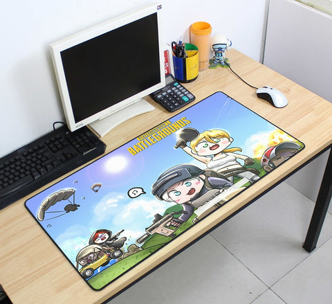 PUBG Kids of PUBG 70cmx40cm Super Large PC Gaming Mouse Pad HD Print