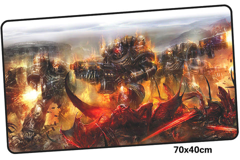 Warhammer 40k Battle Large Mouse Pad 700x400mm Best PC Gaming Pad HD Print