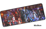 Mass Effect Full Cast Large Mouse Pad 800x300mm Best PC Gaming Pad HD Print