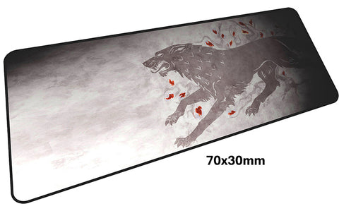 Game of Thrones Large Mouse Pad 700x300mm Best PC Gaming Pad HD Print