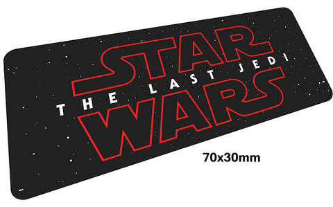 Star Wars The Last Jedi Large Mouse Pad 700x300mm Best PC Gaming Pad HD Print