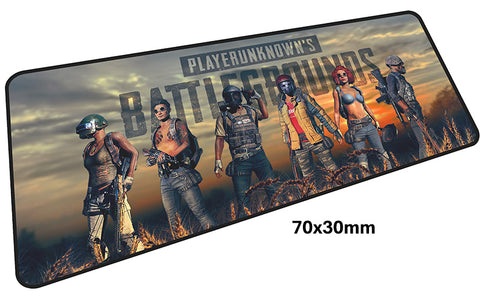 PUBG Six Characters Large Mouse Pad 700x300mmBest PC Gaming Pad HD Print