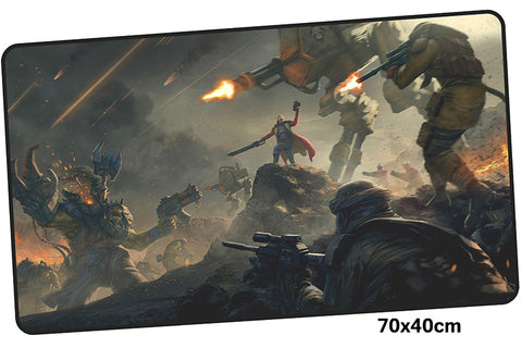 Warhammer 40k Good Kill Large Mouse Pad 700x400mm Best PC Gaming Pad HD Print