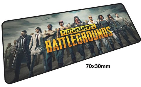 PUBG Complete Cast Large Mouse Pad 700x300mm Best PC Gaming Pad HD Print
