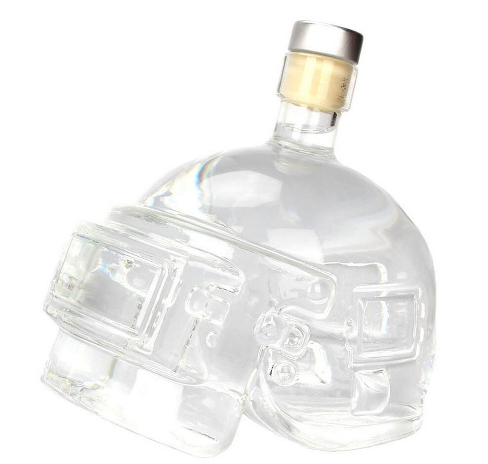 PUBG Borosilicate Glass Bottle Decanter Perfect Bar Decoration  (wine bottle 501-600ml)