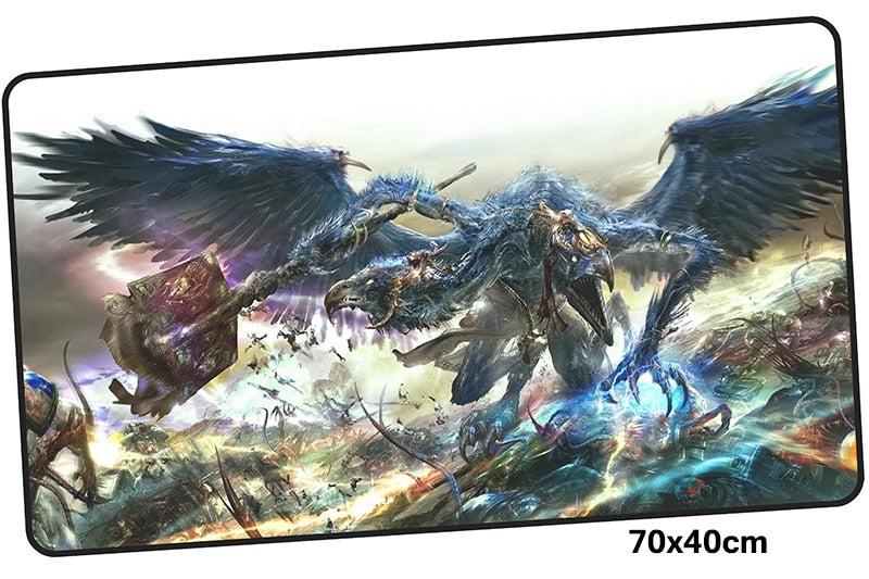Warhammer 40k Kairos Fateweaver Large Mouse Pad 700x400mm Best PC Gaming Pad HD Print