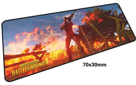 PUBG Molotov Cocktail Large Mouse Pad 700x300mm Best PC Gaming Pad HD Print