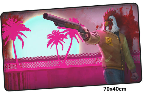 Hotline Miami Jacket Large Mouse Pad 700x400mm Best PC Gaming Pad HD Print