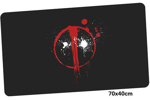 Deadpool Logo Large Mouse Pad 700x400X3mm Best PC Gaming Pad HD Print